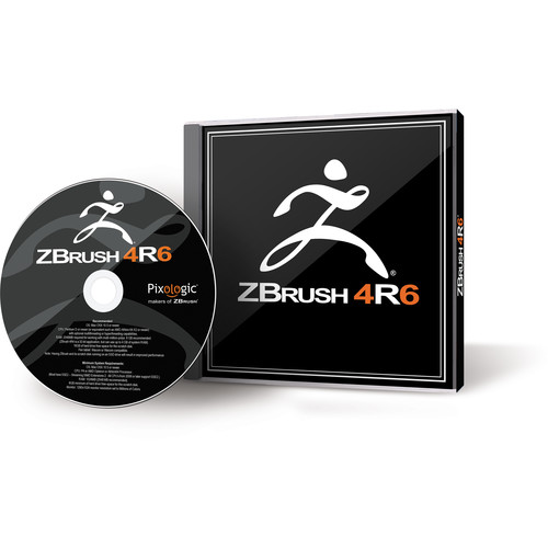 Pixologic ZBrush 4R6 Software for Windows (1-User Serialized License, DVD)