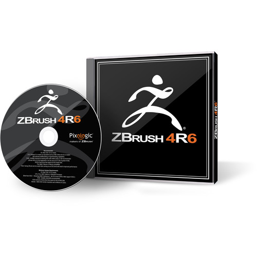 Pixologic Software Backup DVD for ZBrush's 4R6 Volume License
