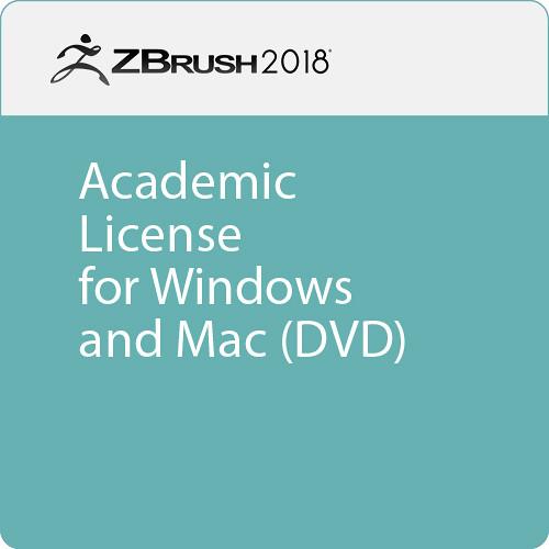 Pixologic ZBrush 2018 (Academic, DVD)