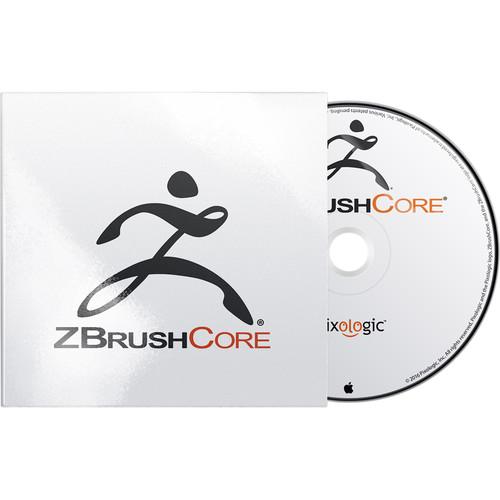 Pixologic ZBrushCore for Windows Backup Disc