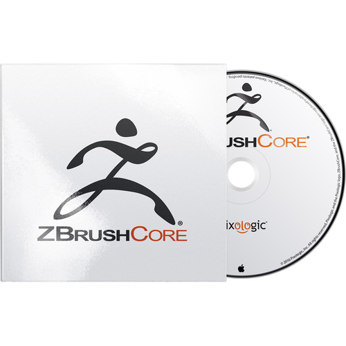 Pixologic ZBrushCore for Windows Backup Disc