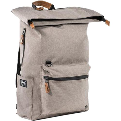 PKG International Brighton Fold Over Backpack (Chocolate Chip)