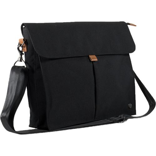 PKG International City Messenger Bag (Black)