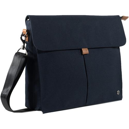 PKG International City Messenger Bag (Blue)