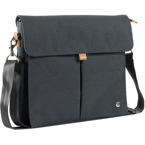 PKG International City Messenger Bag (Dark Gray)