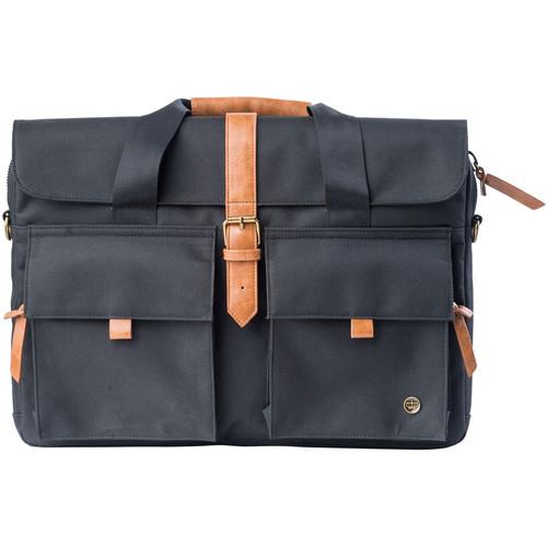 "PKG International LB06 Slim Brief 16"" Laptop Bag (Black)"