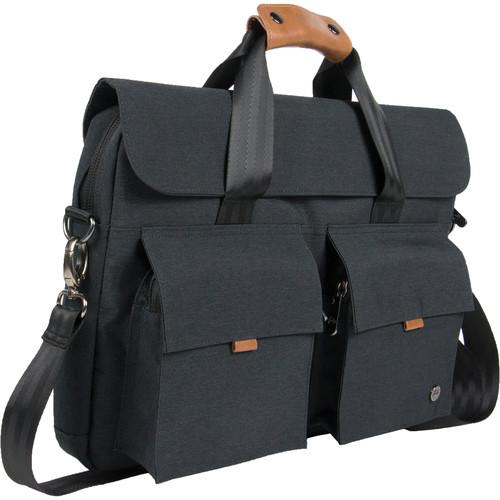 PKG International Richmond Messenger Bag (Dark Gray)