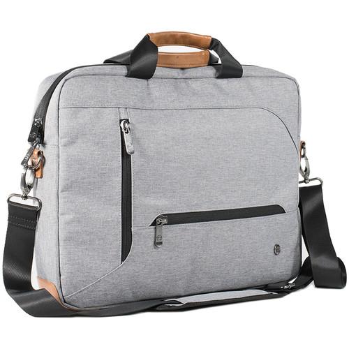 PKG International Annex Messenger Bag (Light Gray)