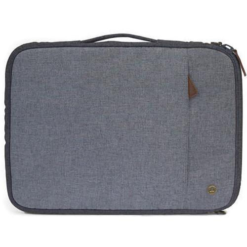 """PKG International Stuff II Portable Sleeve for 13/14"""" Laptop (Light Gray)"""