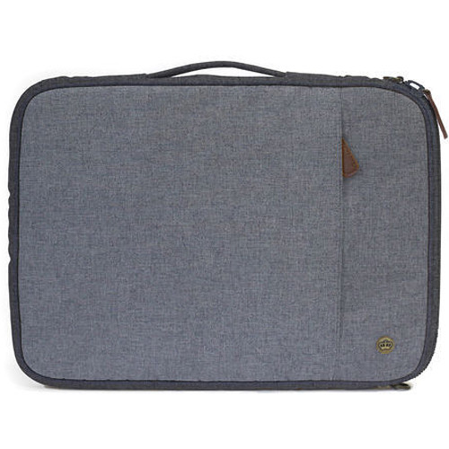 "PKG International LS01 Portable Sleeve for 13""/14"" Laptop (Light Grey)"