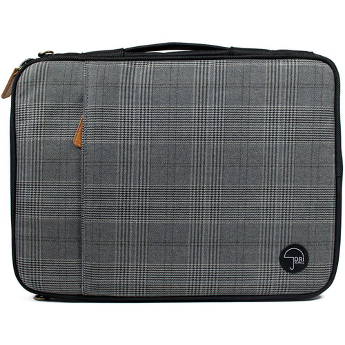 "PKG International LS01 Portable Sleeve for 13""/14"" Laptop (Black Plaid)"