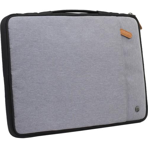 "PKG International Stuff 16"" Laptop Sleeve (Light Gray)"