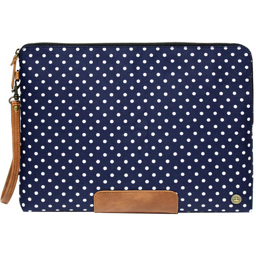 "PKG International LS04 Slouch Sleeve for 13""/14"" Laptop (Polka Dot)"
