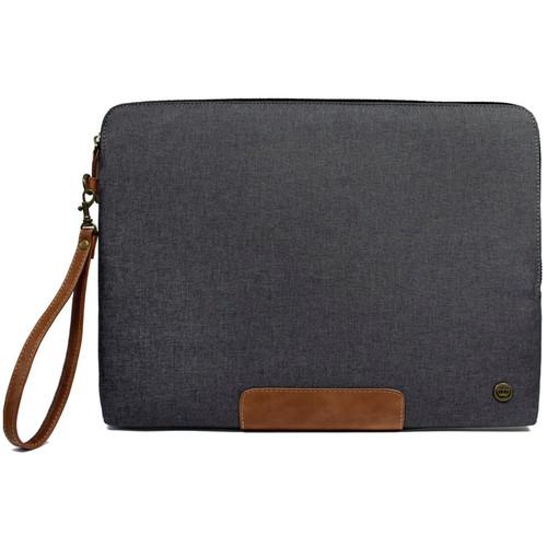 "PKG International LS04 Slouch Sleeve for 13""/14"" Laptop (Dark Grey)"