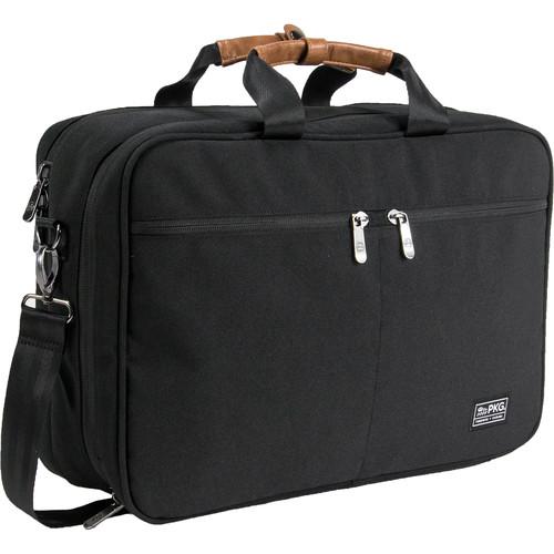 PKG International Pearson Travel Messenger Bag (Black/Black)