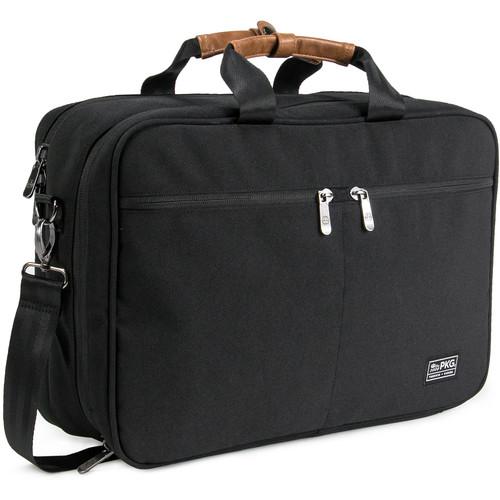 PKG International Pearson Travel Messenger Bag (Black)