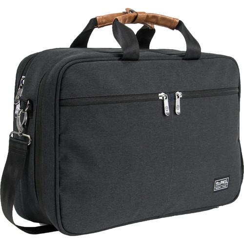 PKG International Pearson Travel Messenger Bag (Dark Gray)