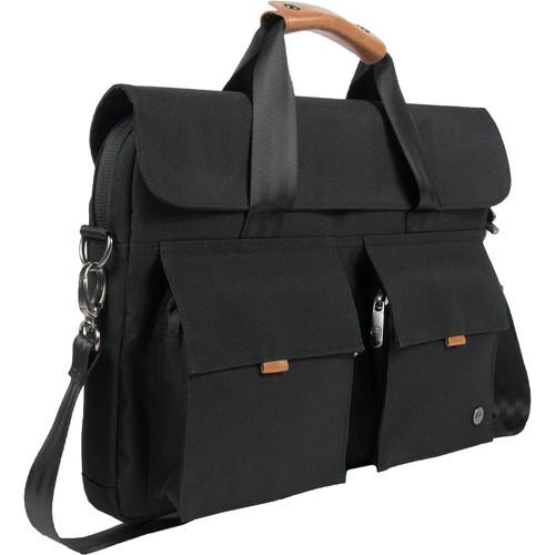 PKG International Richmond Messenger Bag (Black)