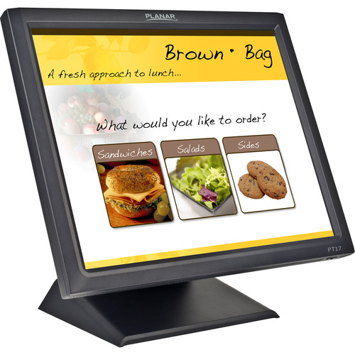 "Planar Systems PT1745R 17"" 5:4 Single Touch LCD Touchscreen Monitor (Black)"