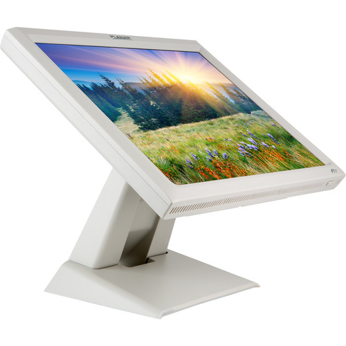 """Planar Systems PT1745R 17"""" 4:3 Single Touch LCD Touchscreen Monitor (White)"""