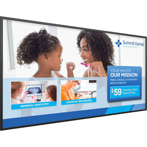"""Planar Systems Simplicity Series SL4351 43""""-Class Full HD Commercial LED Display"""
