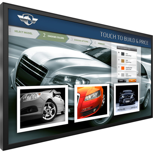 "Planar Systems UltraRes UR8651 MX ERO T 86"" Touch Class 4K UHD D-LED Digital Signage Display"