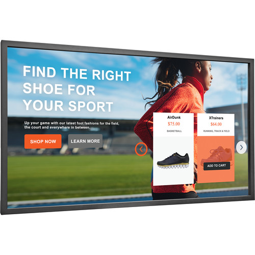 "Planar Systems 55"" Touchscreen Interactive Large Format Display"