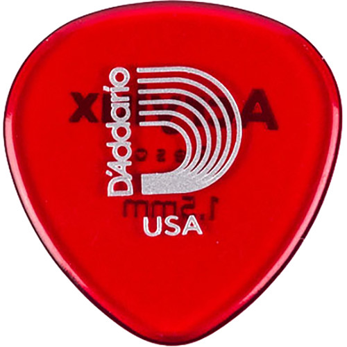 Planet Waves Acrylux Reso Mandolin Pick (25-Pack, Transparent Red)