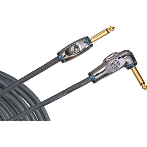 Planet Waves D'Addario Circuit Breaker Instrument Cable with Right-Angle Plug (20')