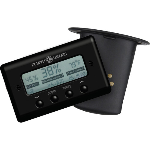Planet Waves Acoustic Guitar Humidifier & Digital Humidity/Temperature Sensor