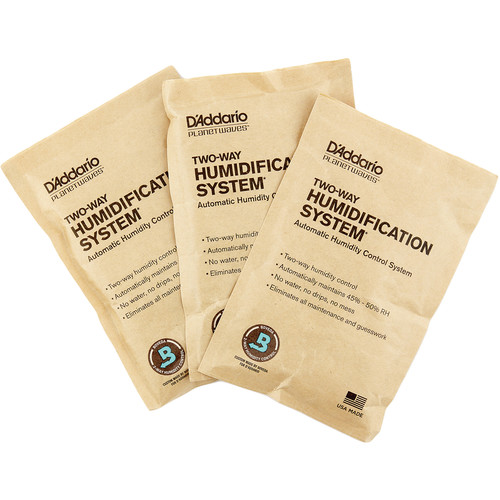 Planet Waves Two-Way Humidification System Replacement Packets (3-Pack)