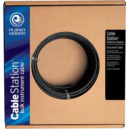 Planet Waves Cable Station Bulk Instrument Cable (50')