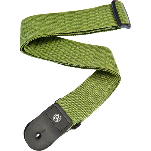 "Planet Waves Polypropylene 2"" Guitar Strap (Green)"
