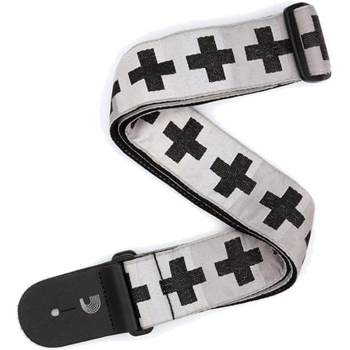 Planet Waves Woven Guitar Strap (Checkered Crosses)