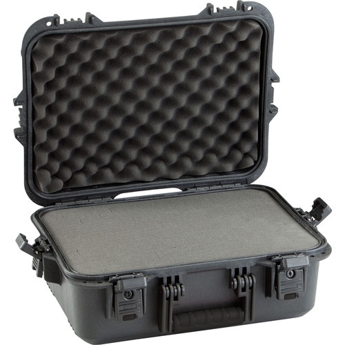 Plano All-Weather XL Pistol and Accessory Case with Pluck Foam (Black)