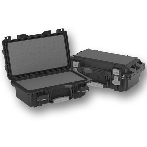 Plano Field Locker Large Military Spec Pistol Case with High-Density Foam (Black)