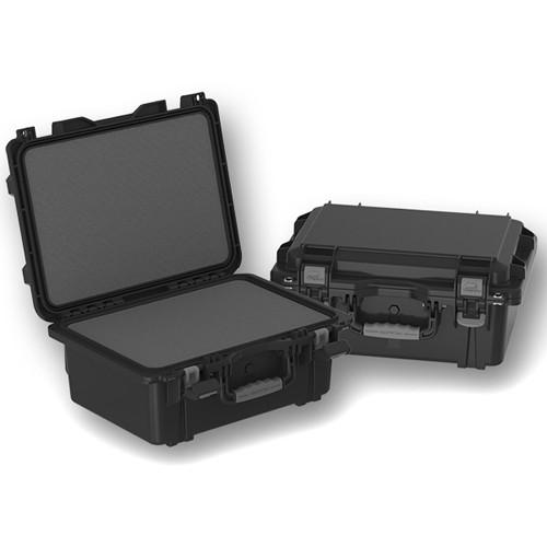 Plano Field Locker XL Military Spec Pistol Case with High-Density Foam (Black)
