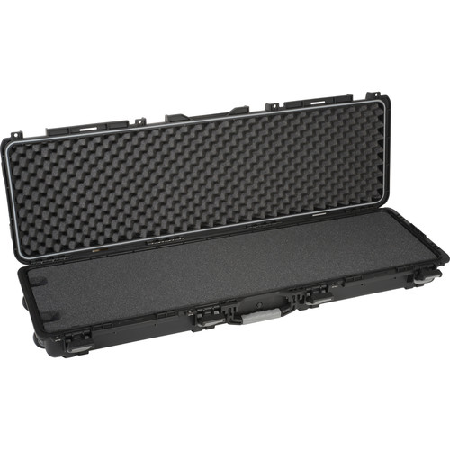 Plano Field Locker Double Long MIL-SPEC Gun Case with Foam (Black)