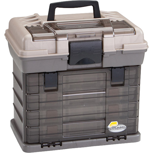 Plano Guide Series StowAway Rack Tackle Box System (Graphite/Sandstone)