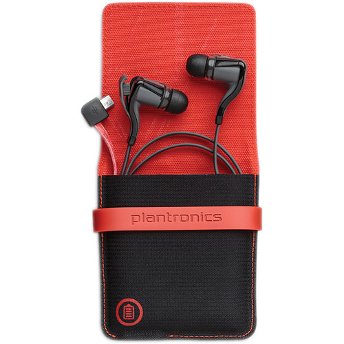 Plantronics BackBeat GO 2 Wireless Earbuds with Charging Case (Black)