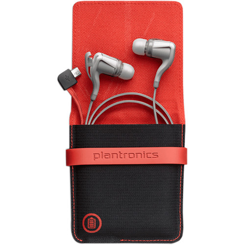 Plantronics BackBeat GO 2 Wireless Earbuds with Charging Case (White)