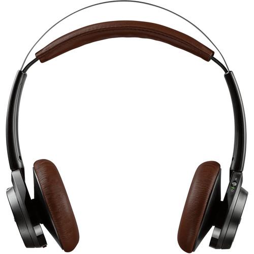 Plantronics Backbeat Sense - Wireless Headphones with Mic (Black/Espresso)