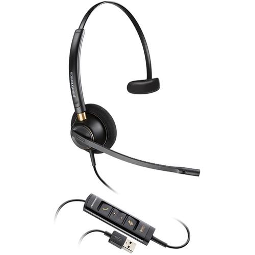 Plantronics EncorePro HW515 USB Monaural On-Ear Headset