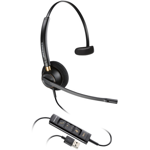 Plantronics EncorePro HW515 USB Monaural On-Ear Headset