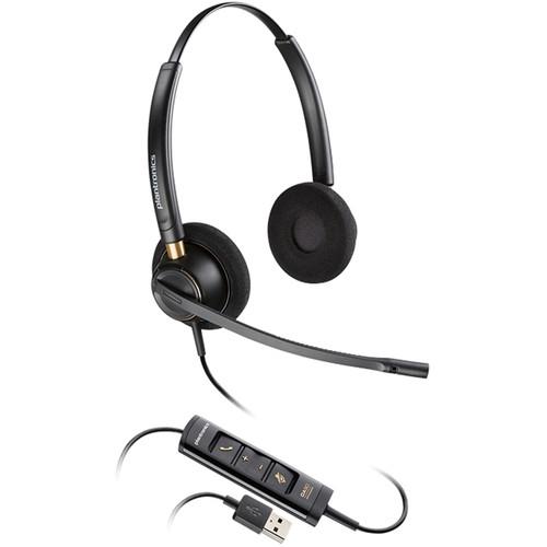 Plantronics EncorePro HW525 USB Binaural On-Ear Headset