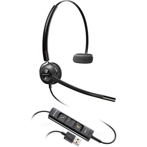Plantronics EncorePro HW545 USB Convertible Monaural Headset