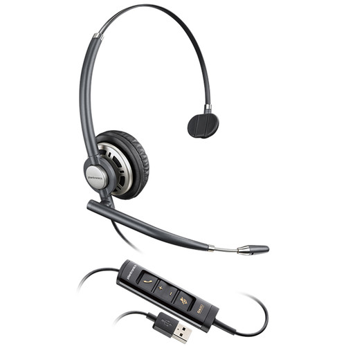 Plantronics EncorePro HW715 USB Monaural On-Ear Headset