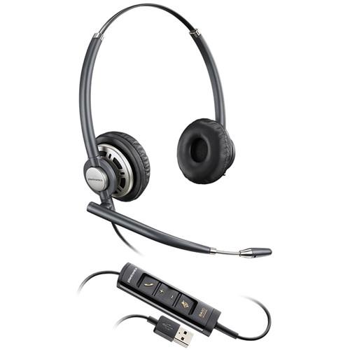 Plantronics EncorePro HW725 USB Binaural On-Ear Headset