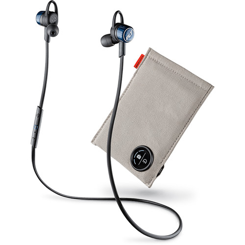 Plantronics Backbeat Go 3 BlueTooth Earbuds and Case (Black)