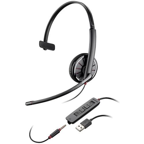 Plantronics Blackwire 315 USB Monaural On-Ear Headset for Skype/UC Applications